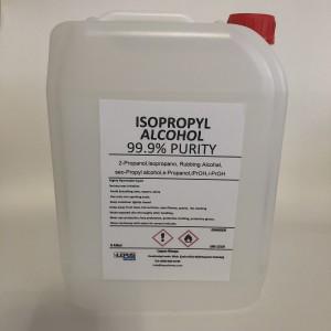 İpa İzopropil Alkol C3H70H (%99,9 Saflık) 5 Lt