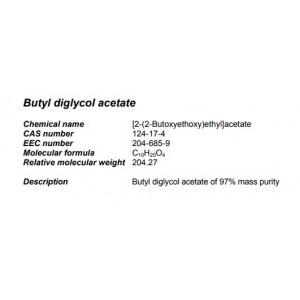 Bütil Di Glikol Asetat 5 kg (Sasol)