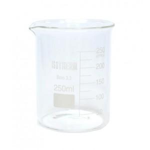 Isotherm Beher Cam Kısa Form 250 ML